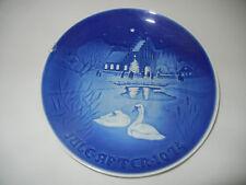 B & G Christmas Plate 1974 Weihnchten in Village (My Pos-Nr. 1974-2)
