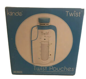Kiinde Twist Pouch Breast Milk Storage Bags for Pumping, Freezing, 6oz- New