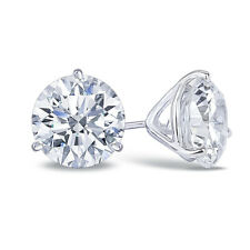 2.5 Carat CZ Studs set in 14K Gold