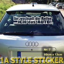 Winterauto Statt Reifenwechsel Schneeschieber Edition aufkleber xxl