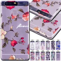 For Huawei P9 Rubber Silicone TPU Protective Soft Case Skin Back Shell Gel Cover