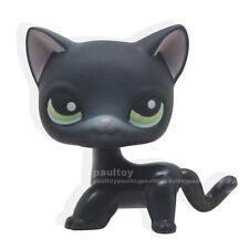#336 Rara Littlest Pet Shop Black Siamese Cat Shorthair Kitty Animal LPS Toy