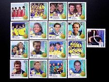 2000 AUSTRALIA OLYMPIC GOLD MEDALLISTS SET + CATHY FREEMAN **MUH** 17 STAMPS
