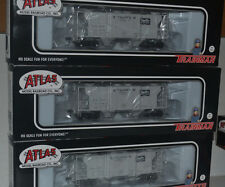 3 Atlas Stauffer Chemical NAHX PS-2 Covered Hoppers Ho Scale