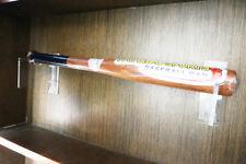Wall Mount Horizontal Baseball Bat / Wall Mount Acrylic Holder / Bat Brackets