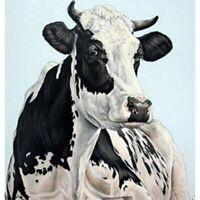 5D DIY Full Drill Diamond Painting Cow Cross Stitch Kits Home Decor Art Gifts