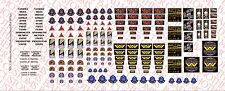 1/18 Scale Decals: Aliens Colonial Marines Patches - Waterslide Decals