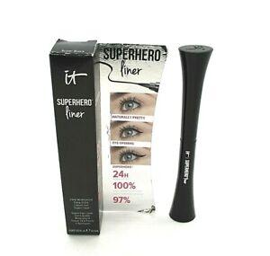 It Cosmetics Superhero Liner ~ Super Black ~ 0.2 ml / 0.007 oz / BNIB
