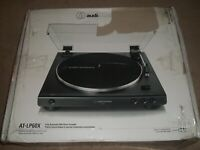 Audio-Technica AT-LP60X Turntable - Black New Open Box fully Automatic