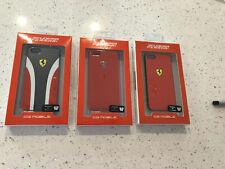 Ferrari Red Case Bumper For Iphone 5 Iphone 5s Iphone SE Models New In Box Lot!