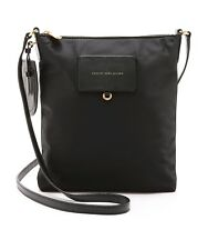 NWT Marc by Marc Jacobs Preppy Sia Nylon Swingpack Crossbody Bag BLACK $160 AUTH