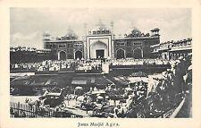 POSTCARD    INDIA   AGRA    Juma  Masjid