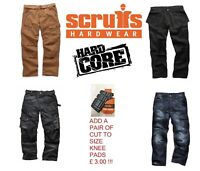 Scruffs Hardcore Work Trousers (Various Styles and Sizes) Plus 3D Trade Pro etc.