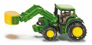 SIKU 1379 John Deere 7530 Tractor & Bale Clamp Loader - BNIP