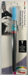 Pentel Arts Brush, Fine Point, Black Ink, Pack of 1 (FL2FBPA)