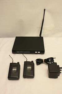 TRANTEC S4000 IEM-TX WIRELESS MIC RECIEVER WITH BODY PACK SYSTEMS CH69