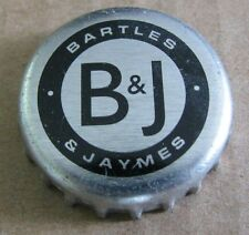 BARTLES AND JAYMES MALT MODESTO CA USED PLASTIC LINED BEER CAP
