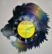 Lion Head themed record clock