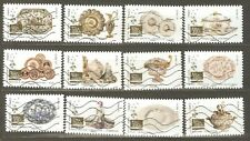 France: full set-12 used stamps, French Porcelain and Faience 2018, Mi#6959-6970
