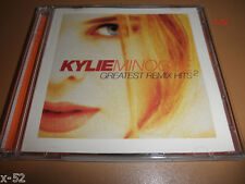 KYLIE minogue RARE cd GREATEST REMIX HITS 2 shocked LOCO MOTION hand on heart