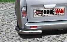 VIVARO Trafic Primastar van coins arrière bar set en acier inoxydable look chrome