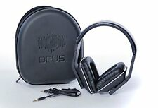 Opus Flux Over-Ear Noise-Isolating Metal Headphones with Mic & Volume Control