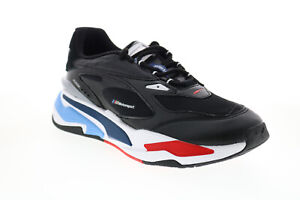 Puma BMW MMS RS-Fast 30677001 Mens Black Motorsport Inspired Sneakers Shoes 7