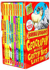 Horrible Geography Histories Collection 10 Books Box Set Pack Anita Ganeri