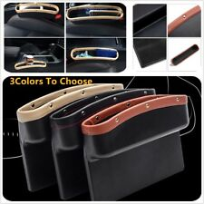 1Pcs Car Seat Storage Box Gap Pocket Organizer Coin Phone Cigarette Collector