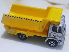 RUMBLIN DUMP TRUCK TONKA COLLECTION SILVER and YELLOW 2 3/4 inches long