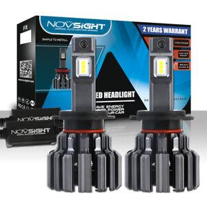 NOVSIGHT H7 80W 15000LM 6000K HID White Auto Car LED Headlight Light Bulbs Kit