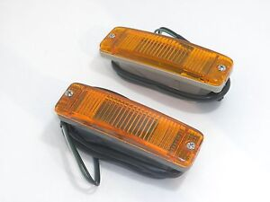 TURN SIGNAL ASSEMBLY FITS VOLKSWAGEN TYPE1 BUG & SUPER BEETLE 1 PAIR