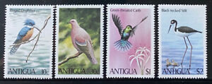 ANTIGUA  587 - 590  Beautiful  Mint  NEVER  Hinged  Set  BIRDS  AG