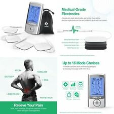 15 Modes Portable Powerful Electro Therapy Device Pain Relief Shock Muscle Ease