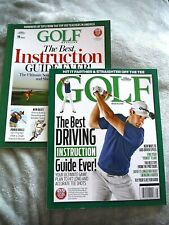 Lot of 2 Golf Magazine Book Aids_The Best Driving Instruction / Best Instruction