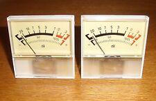2 VU-meter (Analogico, schermo grande = 2 PC)