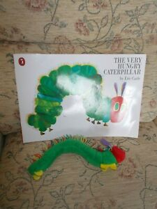 THE VERY HUNGRY CATERPILLAR book & soft toy - Eric Carle