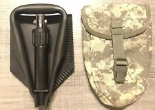 US Military E TOOL. ENTRENCHING TOOL. WITH COVER. NEW