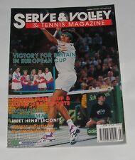 SERVE & VOLLEY THE TENNIS MAGAZINE JANUARY/FEBRUARY 1993 - VICTORY FOR BRITAIN