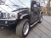 HUMMER H2 FENDER FLARES / WHEEL ARCH EXTENSIONS