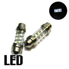 2x VW Polo 9N 1.2 Xenon White LED Licence Number Plate Upgrade Light Bulbs XE7