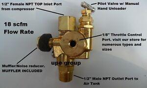 Air Compressor Pilot check valve unloader combination gas discharge 140-175 NSG5