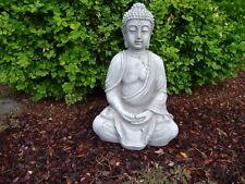 Buddha Figur Skulptur Steinfigur für Garten Deko-Koi Teich Gartenfiguren Neu