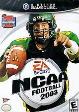 NCAA Football 2003 (Nintendo GameCube, 2002)