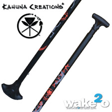 KAHUNA CREATIONS ADJUSTABLE BIG STICK MAGMA LAND PADDLE was £99 SUP PADDLEBOARD