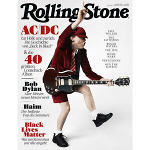 Rolling Stone 2020/07 AC/DC Magazine Germany RARE