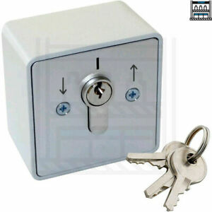 Key Switch Including Keys For A Roller Shutter Garage Door Commercial Access Bay