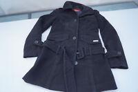 schicke BUFFALO Damen Winter Jacke Trenchcoat Mantel Kurzmantel m Gürtel Gr.34