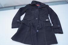 Chic Buffalo femmes hiver veste trench manteau manteau court M ceinture taille 34