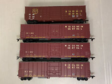 C5- HO Scale Wisconsin Central Box Cars Lot Of 4